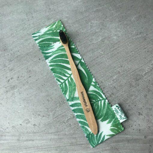 Etui brosse à dent green